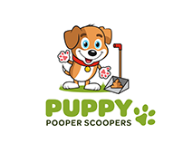 Puppy Pooper Scooper Branding