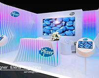Выставочный конструктор для компании PFIZER