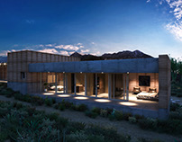 Tucson Mountain Retreat - 3D case study