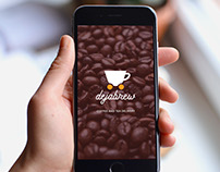 Dejabrew: Coffee and Tea Delivery Mobile UI Design