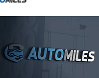 Logo design for AUTOMILES