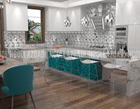 10/2017 Interior Design Kitchen - Vaughan, Canada