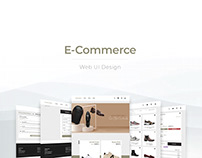 E-commerce Web UI Design