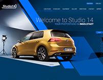 Studio 14 web page