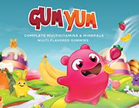 Gum Yum Branding