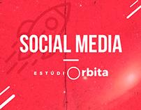 Social Media - Estúdio Órbita