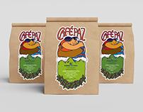 Café Paz label