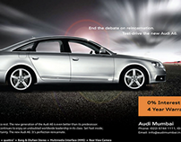 Launch of the new and improved Audi A6