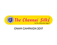 The Chennai Silks Onam Campaign and Metro Ad