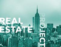 Real Estate Project. Web + App design