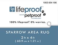 lifeproof™ brand area rugs