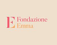 Fondazione Emma branding