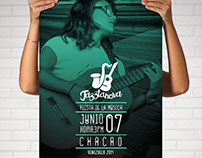 Design flyer and shirts for jazztanova