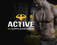 ACTIVE Supplements Branding