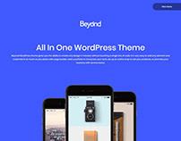 Beyond WordPress Theme - Preview