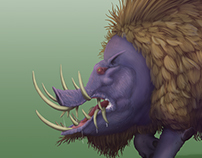 Creature Art from WIP Comic Series: Land of RAAM