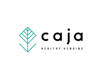 CAJA - HEALTHY VENDING // LOGO DESIGN