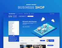 Business marketplace - Website Design