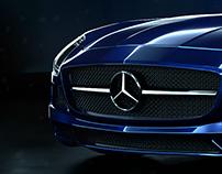 Mercedes-Benz AMG SLS CGI