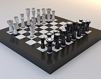 ChesStone, Chess Set