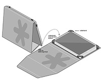 Branded tablet cover and stand proposals