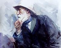 Portrait of Pierre Auguste Renoir