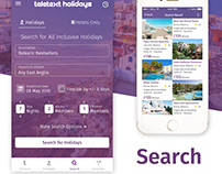 Search and Result Screens User Interface Desgin