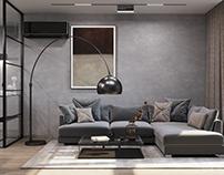 Безмятежный минимализм в двухкомнатной квартире