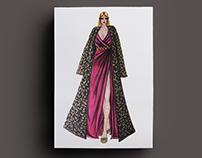 Ilustración de moda - Colección de gala