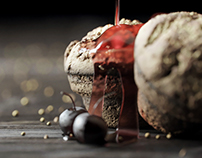 3d Food photography