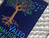 Valeo Behavioral Health logo and business card