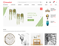 www.housefull.com | Decor Room Landing Page