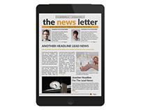 Corporate E-Newsletter