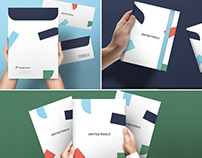 Free Mockup- Envelope, A5 Notebook, A4 Folder