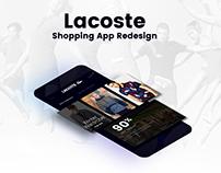 Lacoste App Redesign