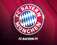FC Bayern München Online TV Channel branding