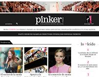 WEB LAYOUT - Pinker moda