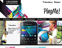 PigMe Black Berry Personal