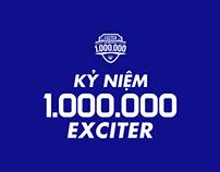 Exciter - Kỷ niệm 1.000.000 Exciter