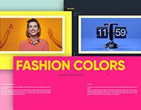 Fashion Colors Elegance Slideshow
