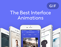 The Best Interface Animation by Yalantis