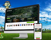 Doğanın Sesi Türkiye Web Sitesi Çalışması