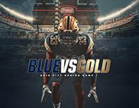 2018 Pitt Football Spring Game Designs