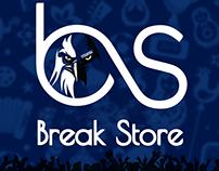 Break Store Logo Design