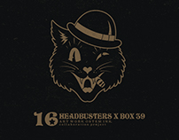 Headbusters x Box 39 x Ostem Ink.