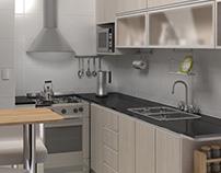 Kitchen 3D Interior