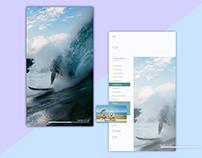 Portrait tv app (Switched landscape)