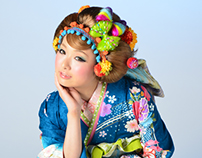 Kimono Collection Art Direction