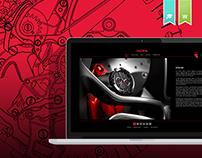 Redline Timepieces : Website