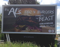 Big Al's BBQ & Burgers Billboards